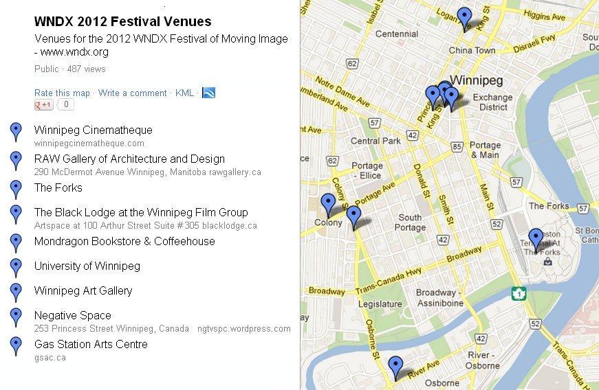 2012 Festival Venues